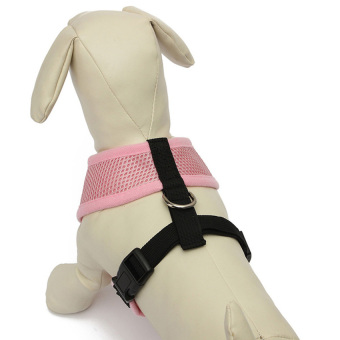 S & F UK Adjustable Mesh Puppy Dog Harness Vest Fabric Pet Clothes Pink S (Intl) - picture 2