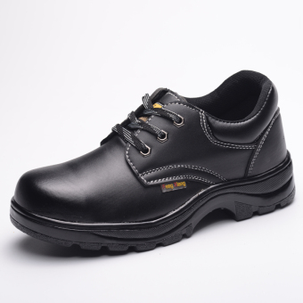 Safety anti-smashing anti-wear stab welder shoes protective shoes