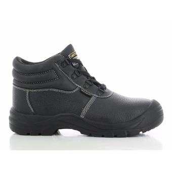 Safety Jogger Safetyboy Steel Toe Cap and Steel Midsole Safety Shoes (Black)