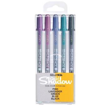 Sakura Gelly Roll Gold Shadows 5 colors