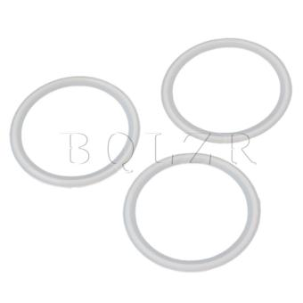 Sanitary Tri Clamp Silicon Gasket Set of 5 White - picture 2