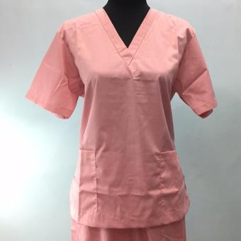 Scrub Suit set peach - small