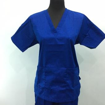 Scrub Suit set Royal Blue - Small