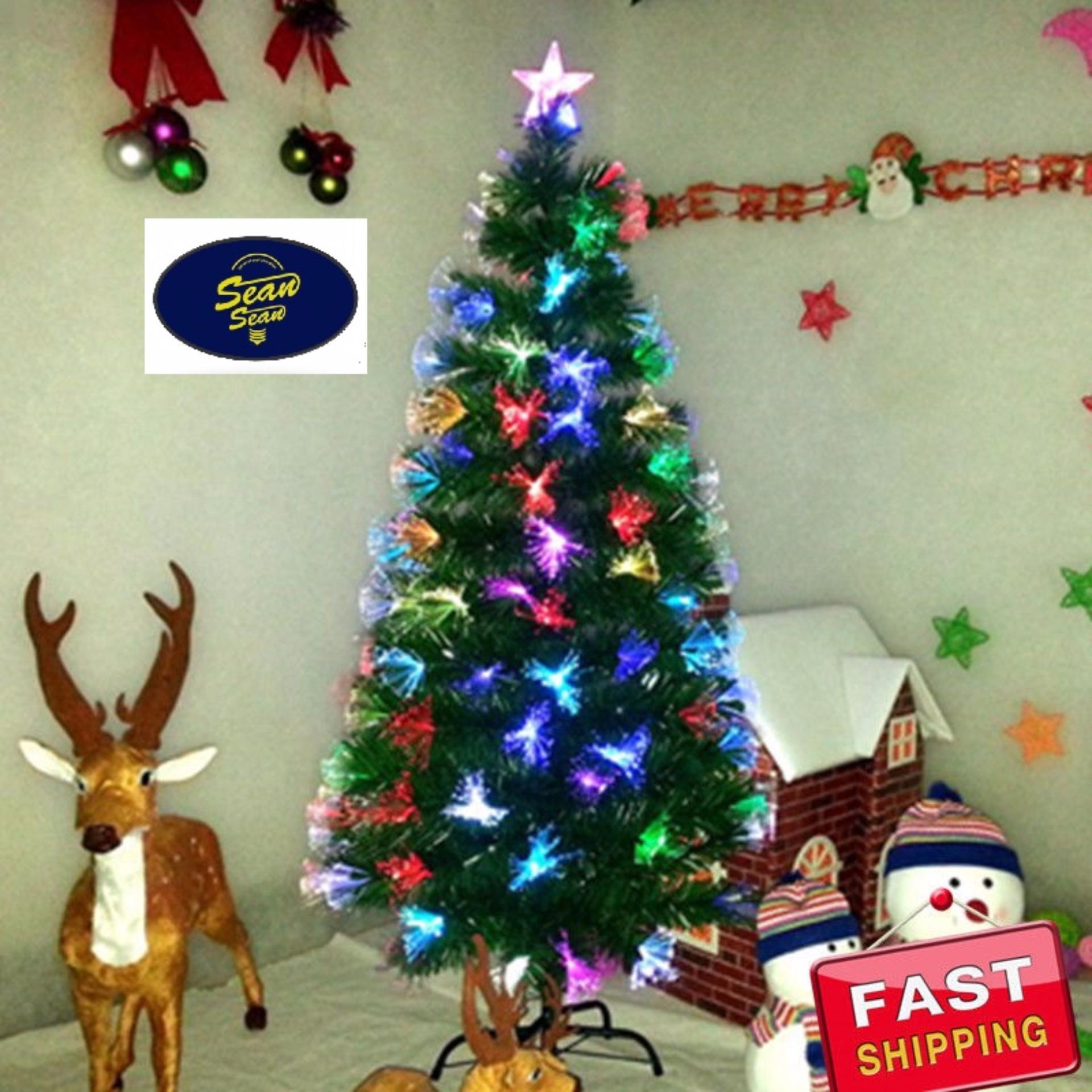 100 7ft Fiber Optic Christmas Tree Sale Fiber Optic  - 7 Ft Fiber Optic Christmas Tree Sale