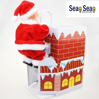 SeanSean Santa Clause Figure Collection (Santa in A ChimneyClimbing Up and Down With Music ) Price Philippines