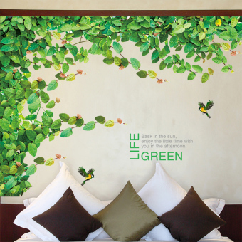 Self-adhesive bedroom living room sofa backdrop can be removed adhesive paper wall stickers