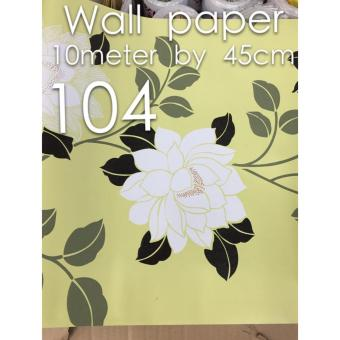 Self-adhesive Removable Waterproof Wallpaper 10meters x 45 cm