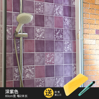 Self-adhesive waterproof bathroom tile stickers Wallpaper