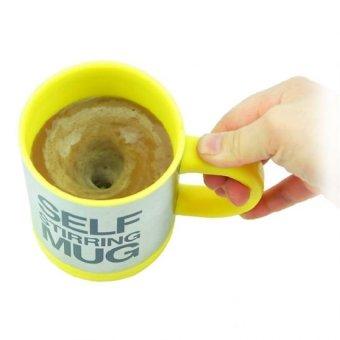 Self Stirring Coffee Mug(Yellow) - picture 2