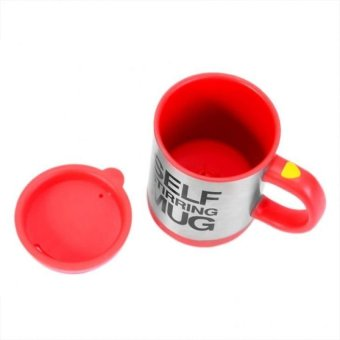 Self Stirring Mug (Red) - picture 2