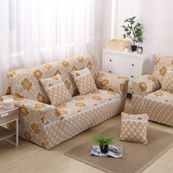 Set 1 + 2 + 3 Seats Stretch Slipcover Sofa Couch Protector CoverHome Decor Style 5 - intl