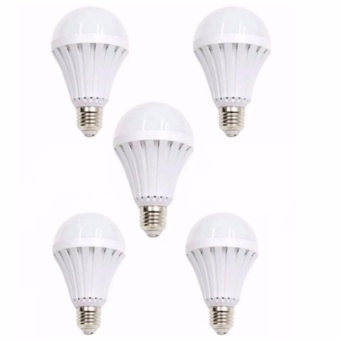 SET of 5 New 12 Watts Intelligent Emergency Led Bulb Magic Bulb