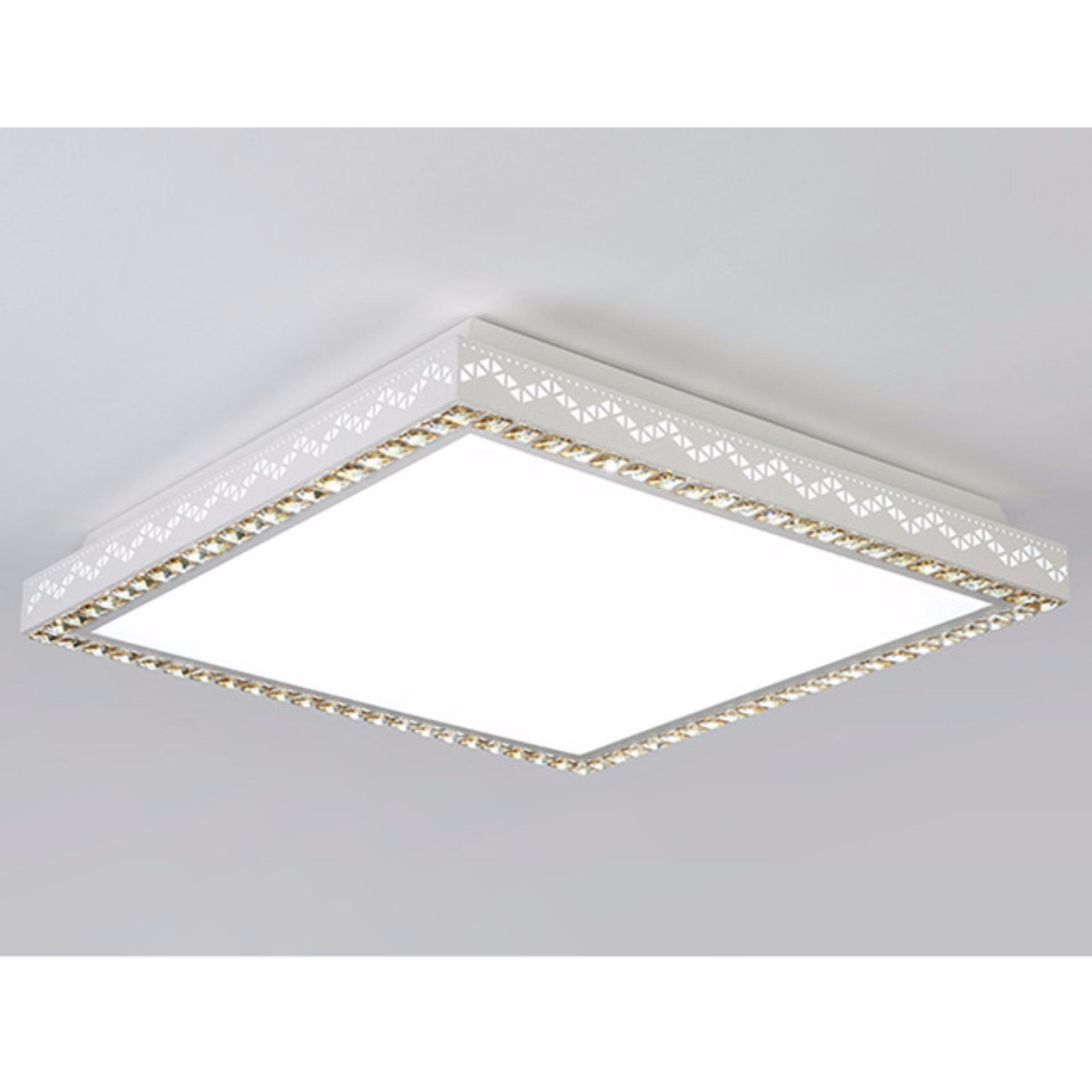 Shifan led ceiling light 5353cm 36w white light creative modernled lamp square