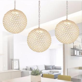 Shifan LED Crystal Pendant Lights Single Head 30CM (White Light)Round Hanging Lighting BT1694 Modern Creative Restaurant Lamps Price Philippines