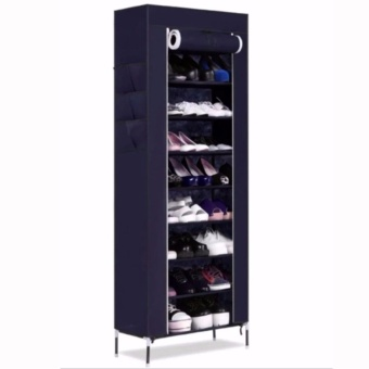 SHXT-609 Shoe Cabinet Shoe Rack (Navy Blue) Price Philippines