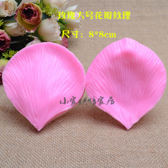 Silicone baking sugar rose Large Mold