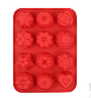 Silicone Flower Jelly Mold High Temperature Resistant PuddingChocolate Hard Candy Cake Mold - intl Price Philippines