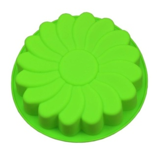 Silicone Large Flower Cake Mould Chocolate Soap Candy Jelly MoldBaking Pan - intl Price Philippines