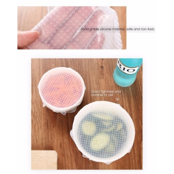 Silicone Reusable Food Wrap Kitchen Tool - intl