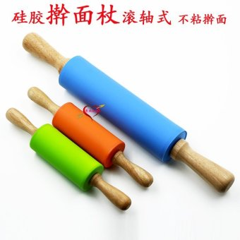 Silicone roller-Children's handle rolling pin