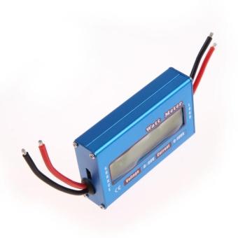 Simple DC Power Analyser Watt Volt Amp Meter 12V 24V Solar Wind Analyzer - intl - 5