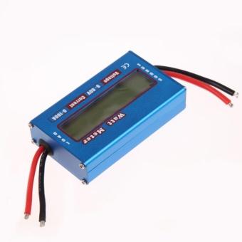 Simple DC Power Analyser Watt Volt Amp Meter 12V 24V Solar Wind Analyzer - intl - 2