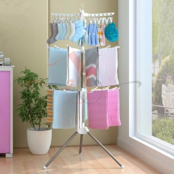 Simple Laundry Drying Racks Floor Folding Towel Sock Rack Hanger Price Philippines