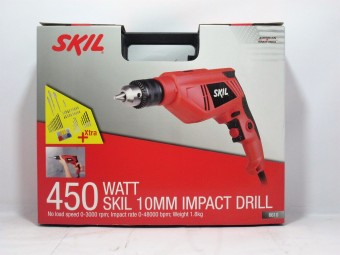 Skil Impact Drill 6610 + 50pcs Accessories Price Philippines