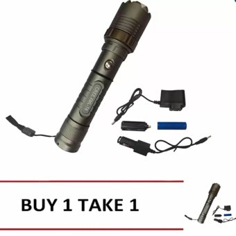 SKY-Z10 30000W GREE LED Ultra Bright Rechargeable Flashlight BUY1TAKE1