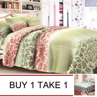 "Sleep Essentials Timeless Series Marginator Bedding 3-piece Set (3"" to 6"" Bed Cushion) Buy 1 Take 1"