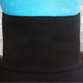 Slimming Belt Abdominal Lumbar Support Brace Waist Slimmer Tummy Trimmer M - INTL - 2
