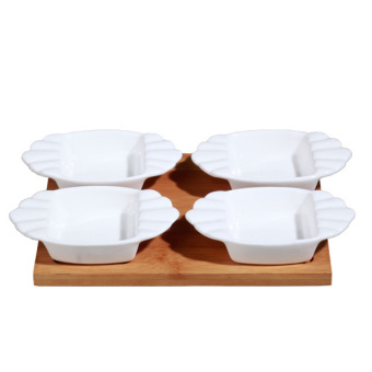 Slique 4pc Condiments Set