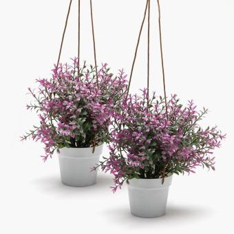 SM Home Hanging Plastic Plant (Set of 2)