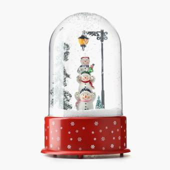 SM Home Snowman Snow Dome