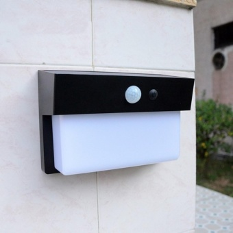 Smart 50LED Solar powered light Outdoor Wall light long lifetime LED Chip - intl
