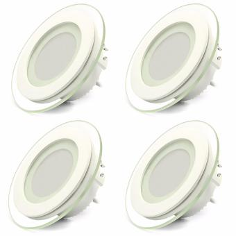 Smart LED Ceiling Light Fixtures Round Ultrathin Panel 480LM 5000K (Day White)
