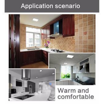 Smart LED Ceiling Light Fixtures Square Ultrathin Panel 480LM 5000K(Day White) - 3