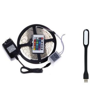 SMD 3528 Waterproof LED Strip Lights 12V With 5V 1.2W PortableFlexible USB LED Light Lamp