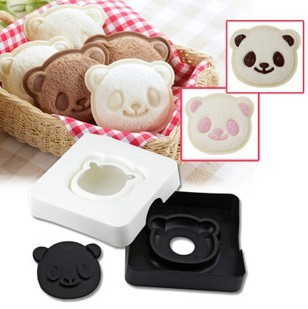 Smile PANDA sandwich for making test toaster toast box