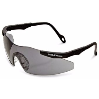 Smith & Wesson Magnum Lens Sports Protective Goggles GlassesEyewear ANSI Z87.1 (Smoke)