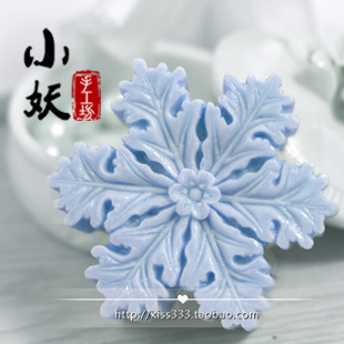 Snow b1603 Christmas handmade fragrant soap