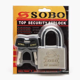 Sobo Top Security Padlock 60mm - 2