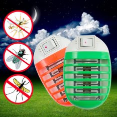 Socket Electric Practical Mini LED Mosquito Repellent Fly BugInsect Trap Zapper Killer Night Lamp 220V -
