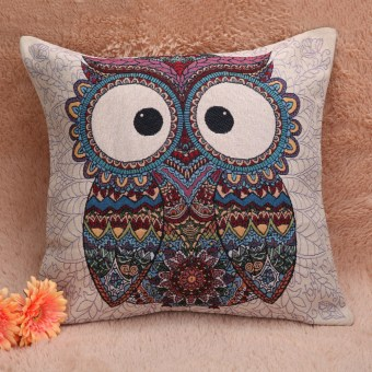 Sofa Couch Pillow Chair Mat Weeping Willow for Home Office Car - Intl - 2