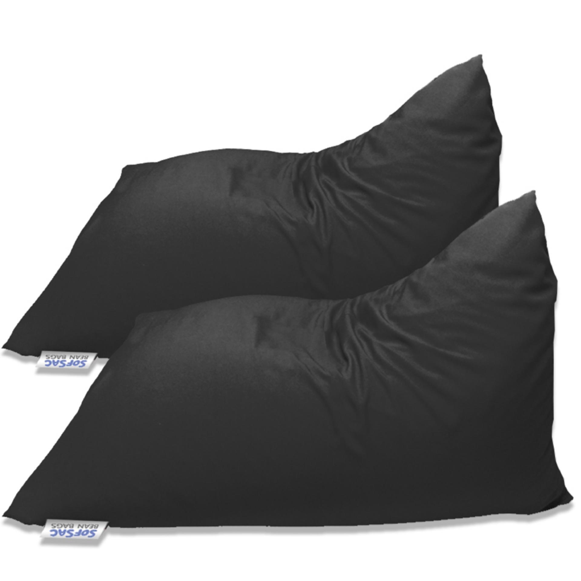 SofSac Triangular Bean Bag Chair Set Of 2