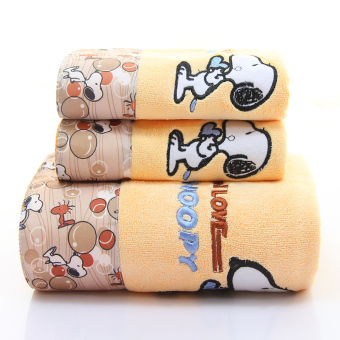 Soft absorbent thick gift covers bath towel