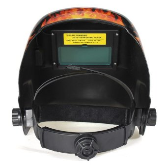 Solar Auto Darkening Welding Helmet Mask Tool UV/IR Protect Black/Yellow - intl - 3