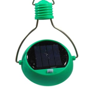 Solar Light Bulb (Green) - 3