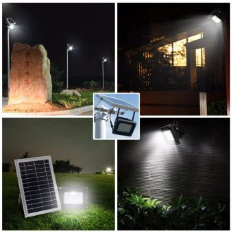 Solar Lights Solar Powered Floodlight Outdoor Garden Spotlight, IP65 Waterproof, 54LED 400Lumen for Patio, Deck, Yard, Walkway - intl - 4