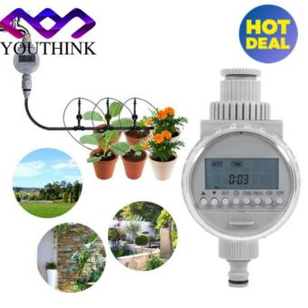 Solar Power LCD Digital Garden Auto Water Saving Irrigation Controller Watering Timer - intl